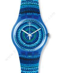 montre bleu centrino swatch SUOS104