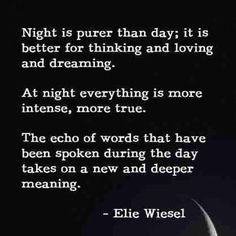 Ellie Weisel, brilliant author.