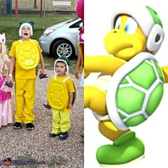 Mario Family - Halloween Costume Contest at Costume-Works.com  sc 1 st  Pinterest & Make a Bowser Jr Mario Brothers Halloween costume | Fall | Pinterest ...