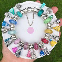 Pandora Charms Disney, Disney Pandora Bracelet, Disney Jewelry, Pandora Bracelets, Pandora Jewelry, Pandora Collection, Cute Jewelry, Jewlery, Diy Bracelets Easy