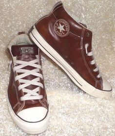 Converse Chuck Taylor Street Slip-On Men's Leather Style Sneaker 136420c  #Converse #FashionSneakers