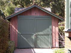 The original Hewlett Packard garage.