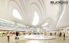 shoping mall rendering from silkroad