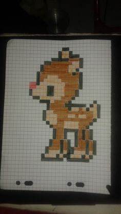 pixel art - Page 18 Fuse Bead Patterns, Beading Patterns, Cross Stitch Patterns, Pixel Art Anime, Pixel Art Minecraft, Easy Pixel Art, Pixel Drawing, Graph Paper Art, Pixel Art Templates