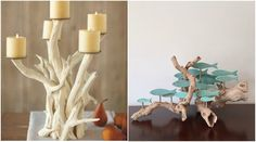58 DIY summer decorations ideas with natural elements-materials Summer Decor, Beach Diy, Diy Summer Decor, Seasonal Decor, Candle Sconces, Decor Interior Design, Diy Beach Decor, Diy Bottle Crafts, Diy Bottle