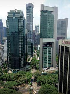 Singapore towers @ Tanjong Pagar