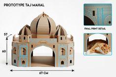 Taj Mahal jouets pour chats                                                                                                                                                                                 Plus