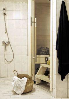 """Muotopuoli: """"Onks sauna pääl?"""" Saunas, Alcove, Bathtub, Bathroom, Standing Bath, Washroom, Bath Tub, Bathtubs, Bathrooms"""