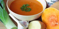 Zimná tekvicová polievka - Tinkine recepty Cantaloupe, Healthy Eating, Tasty, Baking, Fruit, Food, Eating Healthy, Healthy Nutrition, Clean Foods