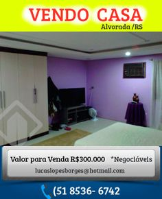 Casa 3 Dormitórios 440 m² em Alvorada / Bela Vista -TERRENO ÓTIMO PARA CONSTRUÇÕES ( Aceita-se negociações) R$300.000 (51) 9969.8792 Maria  (51) 9969-8792(51) 9949.9889