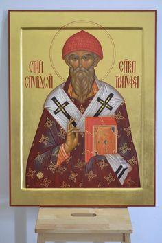 Orthodox Icons, Saints, Spirituality, Baseball Cards, Painting, Corfu, Greece, Fresco, Greece Country