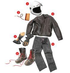 Znalezione obrazy dla zapytania retro motorcycle jacket