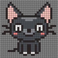 135 Best Cat Kitten Perlers Images Perler Patterns