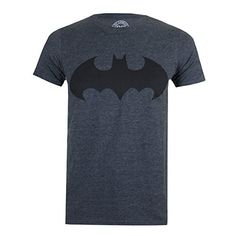 From 9.99 Dc Comics Men's Mono Batman Lrg T-shirts Grey (dark Heather) Large