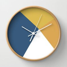 Retro Wall Clock by zeststrategydesign on Etsy