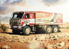 Liaz na Dakaru: Galerie českých speciálů Dump Trucks, Cool Trucks, Rallye Paris Dakar, Rally Raid, Dirt Racing, Off Road Camper, Expedition Vehicle, Motor Car, Cars And Motorcycles