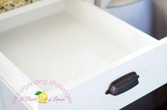 Mini Organizing Challenge The Utensil Drawer-- A Bowl Full of Lemons
