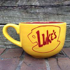 Gilmore Girls Luke's Diner Jumbo Mug. Neeeeeed.