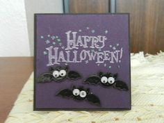Stampin Up Happy Halloween Card Kit.