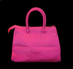 #chicunderground #sophie #pink #passion #summer  #birkin #hermes #handbag #bag #eco #bright #colors #recycling #plastic #bottles #sustainable #fun #fashion #beauty