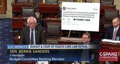 Bernie Sanders just