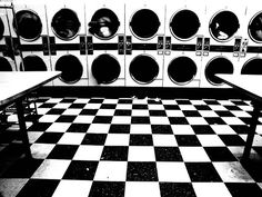 I recall the time at a laundromat in Hollywood when a man was washing women's underwear. They were drying, pink and violet and black and lace going round and round. As he plucked each dainty out of the dryer he'd try it on. Well, the brassieres he tried o Smelly Laundry, Laundry Shop, Coin Laundry, My Beautiful Laundrette, Laundry Business, Future Shop, Opening A Business, Vintage Laundry, Ares