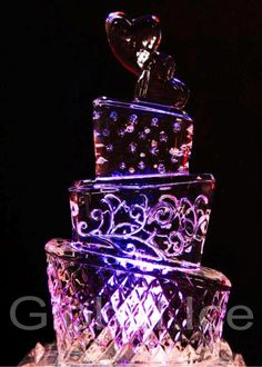 Wedding Ice Sculptures details, Exquisitely Hand Carved for your special occasion