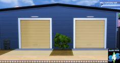 Garage Door Deco Object at Simista • Sims 4 Updates