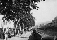 Malaga antigua Old photograph Alamedilla y rio Guadalmedina,fotos, old, century, photos, nineteenth, xix, siglo