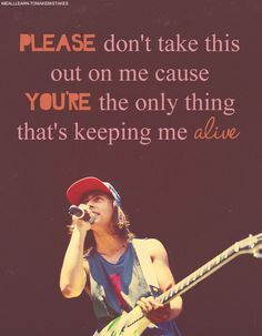 Bulls In The Bronx- Pierce the Veil. Listening to this now. It's my go to song for a bad night.<< iI love this song