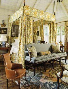 Atlanta home of Interior Designer Peggy Stone. Veranda April 2011