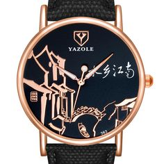 YAZOLE 363 Chinese Style Retro Luminous Hand Women Watch at Banggood Uganda, Sri Lanka, Sierra Leone, Seychelles, Montenegro, Puerto Rico, Cook Islands, Diy Playing Cards, Cuba