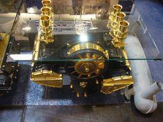 PORSCHE  ENGINE COFFEE TABLE