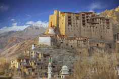 Leh Palace -favorite towns across the Himalaya