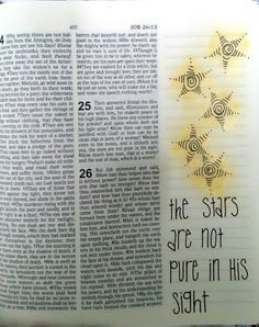 Job 25:5 Job Bible, Bible Art, New Every Morning, He Day, Journaling, Drawings, Ideas, Caro Diario, Sketches