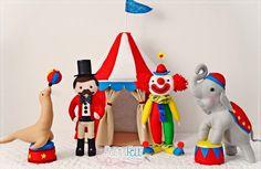 Felt circus - circo de feltro