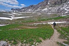 Happening this summer: hiking the long, wide bench of Death Canyon Shelf. #tetoncresttrail #motivation #resolutionchallenge
