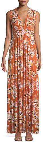 Rachel Pally Long Sleeveless Zahara-Print Dress, Plus Size #plus size #plussize #plussizefashion #curvy #effyourbeautystandards #effyourbeautystandards #honormycurves #celebratemysize #goldenconfidence #plusmodelmag #fullfigured #ShopStyle #MyShopStyle click store link for more information or to purchase the item