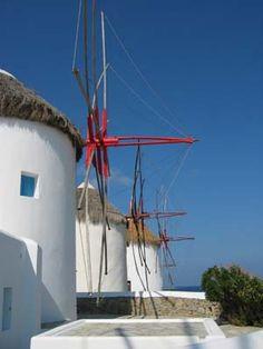 Mykonos, Greece Windmills