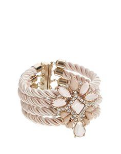 New Look Princess Stone Stud Bracelet 9.99