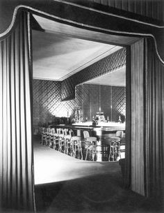 Interior Of Ciro's Nightclub On Sunset Blvd. in Hollywood