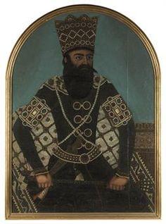 PORTRAIT OF FATH 'ALI SHAH QAJAR Qajar Dynasty, Cultura General, Persian Motifs, Central Asia, 19th Century, Iranian, Sculpture, Statue, Ali
