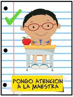 Normas de aula - Imagenes Educativas Classroom Rules, Classroom Organization, Classroom Decor, Preschool Spanish, Spanish Activities, Teachers Room, Social Behavior, Class Decoration, Learning Arabic