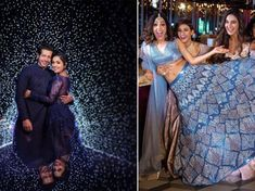 The Neeti Mohan Wedding is all about Squad Goals for Indian Bridesmaids - Witty Vows Indian Bridesmaids, Wedding Bridesmaids, Bridesmaid Dresses, Wedding Dress, Royal Wedding Venue, Wedding Bells, Wedding Decor, Indian Wedding Songs, Team Bride