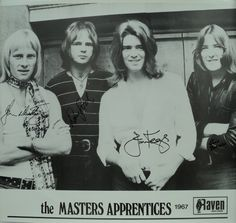 """""""The Masters Apprentices"""""""