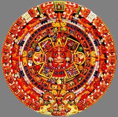 Nombres de los calendarios mayas  La rueda calendarica de 52 años