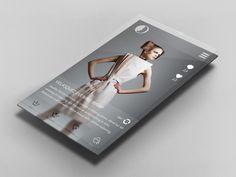 Fashion App UI - by Christian Shannon   #ui