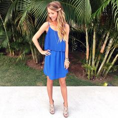 Blue summer dress @liketoknow.it www.liketk.it/1vNnI #liketkit