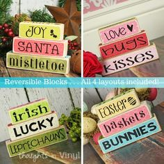 vinyl crafts ideas | Thoughts in Vinyl -- Unfinished Craft Projects and Vinyl Lettering for ...