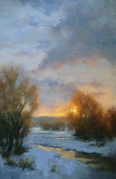 Workshop News, painting by artist Jane Hunt